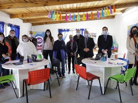 """Mayra Mendoza y Nicolás Trotta presentaron el programa """"Área Q"""""""