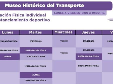 Conocé las nuevas propuestas deportivas en el Museo del Transporte en Quilmes