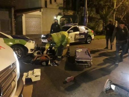 Quilmes: persecución a motochorros, operativo cerrojo, choque y detención