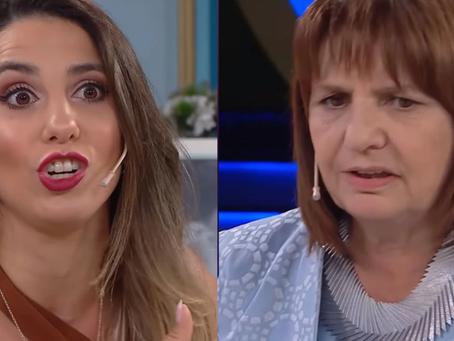 """Cinthia Fernández destruyó a Patricia Bullrich en """"La noche de Mirtha"""""""