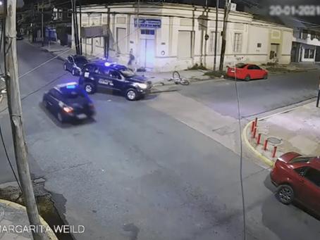 Video: detuvieron a dos roba bicicletas de Lanús luego de operativo