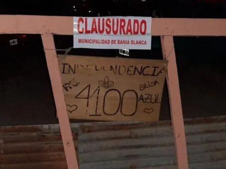 Desalojan fiesta electrónica de 400 personas en Bahía Blanca