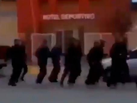 """Piquetero, ten cuidado, a tu villa entraré"": repudiable arenga de la policía de Chubut"