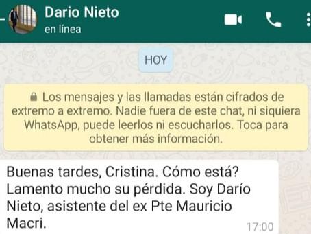 Increíble intento de utilización: Macri quiso contactar a la madre de Facundo Astudillo Castro