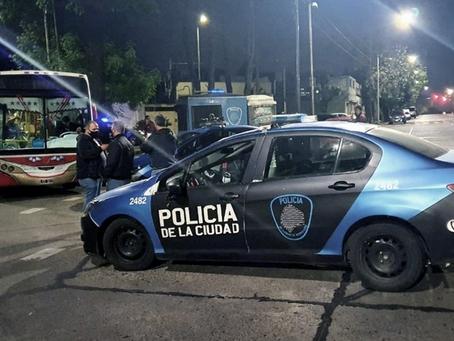 Villa Lugano: policía mató a delincuente de 15 años que subió a robar a un colectivo