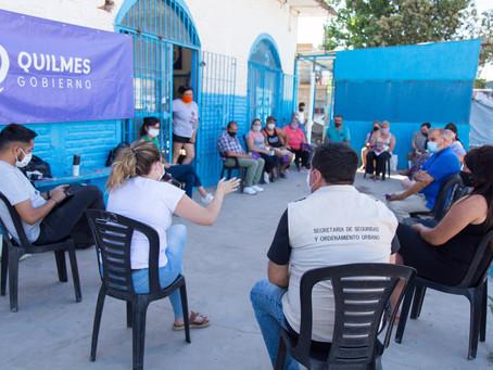 Continúan los encuentros vecinales para explicar el plan de inversión para la prevención del delito