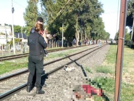 Boulogne: arrojaron a una mujer a las vías del tren y por el femicidio detienen a su esposo