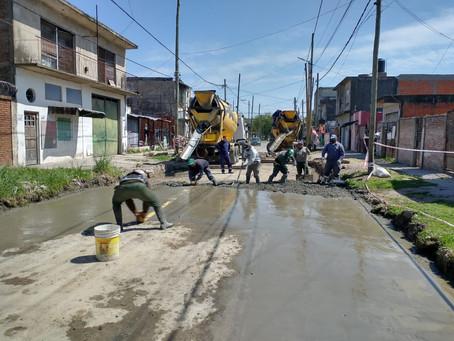 Más trabajos de bacheo, limpieza de arroyos y mantenimiento de espacios públicos en Quilmes