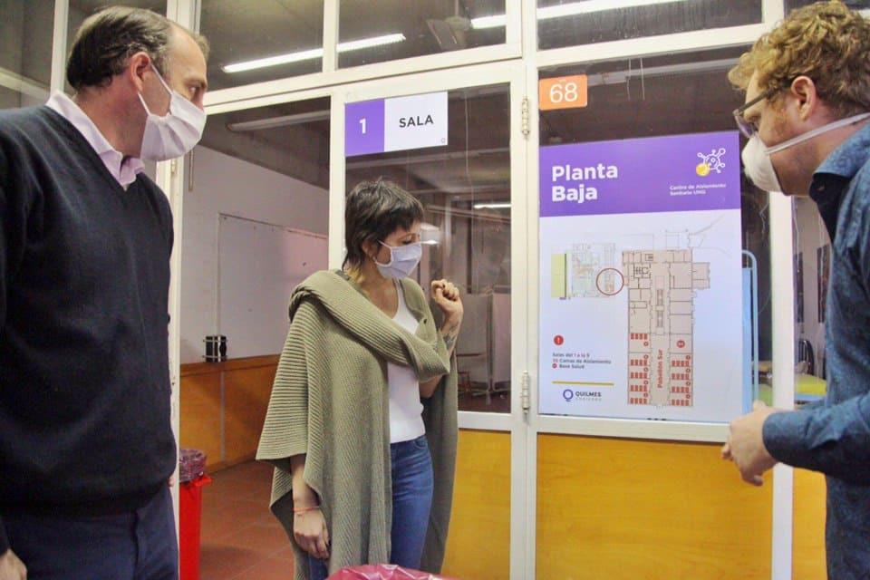 El Municipio de Quilmes puso en funcionamiento el nuevo centro de aislamiento sanitario de la UNQ