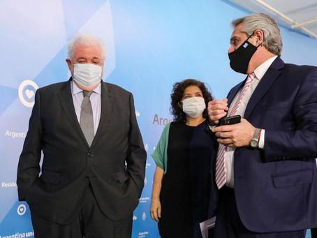 Alberto Fernández comienza a definir el Plan de Vacunación contra el Coronavirus