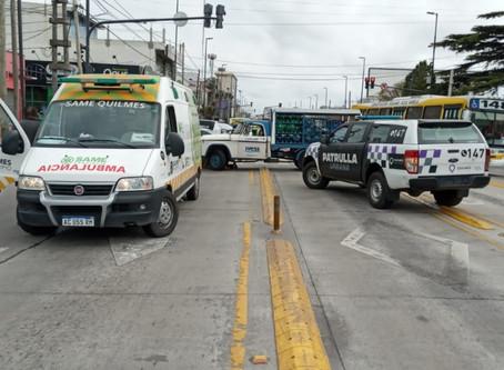 Quilmes Oeste: sodero se quedó sin frenos y atropelló a un abuelo de 80 años que murió en el acto