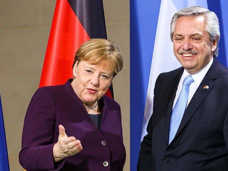 """Alberto Fernández se sumó al homenaje a Angela Merkel: """"Una mujer que ha dejado huella"""""""