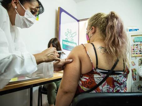 Comenzó la aplicación de la segunda dosis de la vacuna Sputnik V en Quilmes