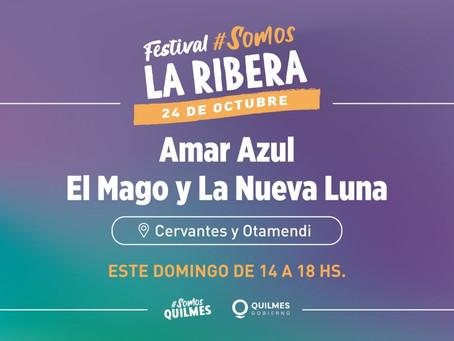 Festival musical por el 106º aniversario de la Ribera de Quilmes
