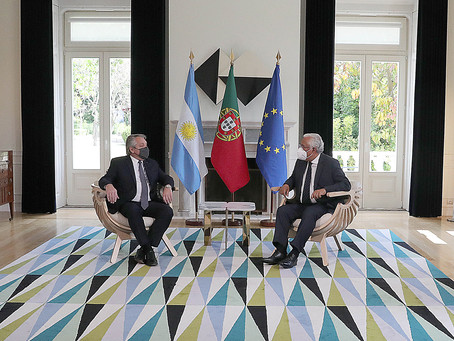 El Primer Ministro de Portugal expresó su apoyo a la posición de la Argentina en las negociaciones