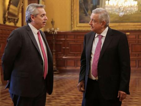El Presidente arribó a México para iniciar su visita oficial por los 200 años de independencia