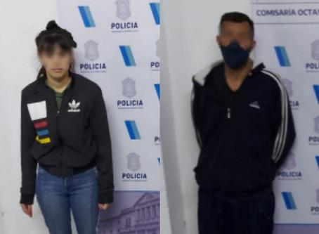 Pareja intentó usurpar una casa vacía de Bernal y fueron desalojados por la policía