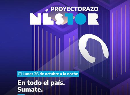 Una proyección con el recuerdo de Néstor Kirchner se verá el martes en edificio de la ex Esma