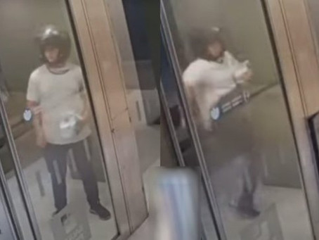 Ataque de furia: repartidor fue a entregar el helado, lo rechazaron por demorar y rompió el portero