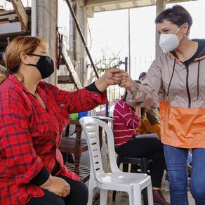 "Mayra: ""Si en este contexto tan difícil pudimos avanzar, imagínense los que haremos sin pandemia"""