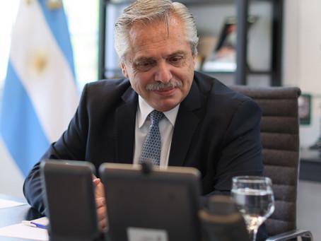 Alberto Fernández dialogó con Vladimir Putin sobre la situación de la pandemia, FMI y vacunas
