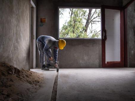 El municipio de Quilmes reactivó la obra de 24 viviendas en el barrio Los Eucaliptus