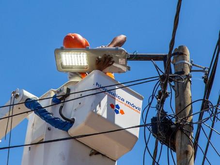 El municipio continúa con la instalación de nuevas luminarias LED en Quilmes