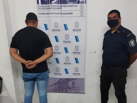 Bernal: detuvieron a sujeto acusado de asaltar y balear a una joven
