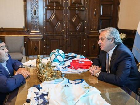 """Alberto no pudo contener las lágrimas: """"Maradona solo pensaba en darle felicidad a la gente"""""""