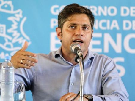 Kicillof anunció la extensión del horario nocturno hasta las 2am en la provincia de Buenos Aires