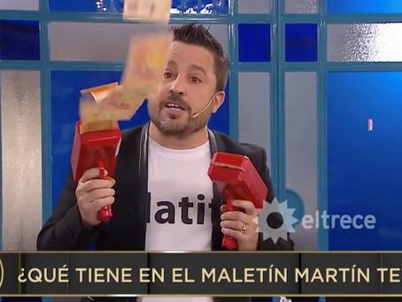 """El bochorno de Martín Tetaz que avergonzó a propios y ajenos: """"Lluvia de billetes"""""""