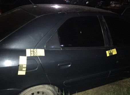 La Plata: cobardes le pegaron a una inspectora en un control e intentaron huir pero los detuvieron