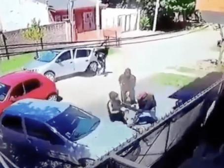 """Violenta entradera de grupo comando de falsos policías: """"Dame los millones o te llevo a la nena"""""""