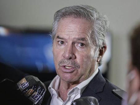 """Felipe Solá: las exportaciones de 2021 """"son las más altas desde 2014"""""""