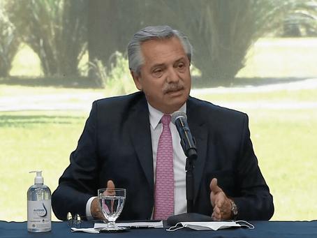 """Alberto Fernández al anunciar plan de viviendas: """"No quiero más una Argentina dividida"""""""
