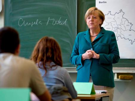 """""""Todavía no estamos preparados para reabrir las escuelas"""", aseguró Merkel pese a la baja de casos"""