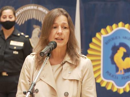 """Frederic: """"Las fuerzas federales cumplirán el rol de central de hacer cumplir las medidas"""""""
