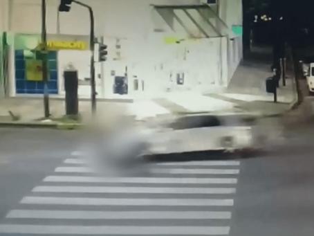 Imágenes sensibles: conductor escapó tras atropellar a un nene de 4 que murió