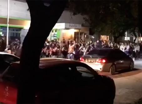 Indignación en Chajarí: estudiantes festejaron sin barbijo ni distancia y hubo enfrentamientos