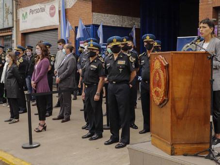 Mayra y Sabina Frederic inauguraron la primer sede de la Superintendencia de drogas Peligrosas