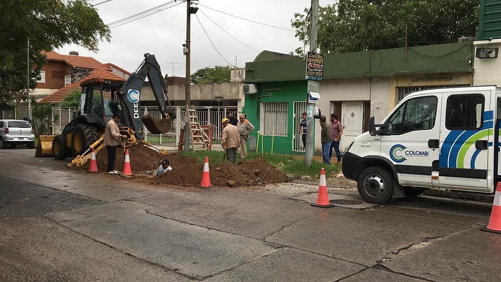 Se puso en marcha la obra de acceso al agua potable para Villa Itatí