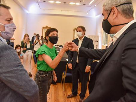 Intendentes de la tercera sección electoral se reunieron con el ministro Ferraresi en Quilmes