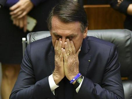 Récord de muertes en Brasil: Bolsonaro pide no entrar en pánico ni hacer cuarentena