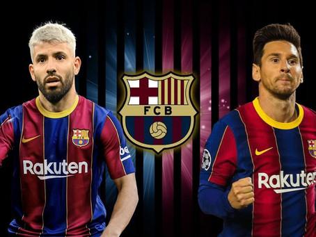"""En Barcelona cobra fuerza la contratación del """"Kun"""" Agüero"""