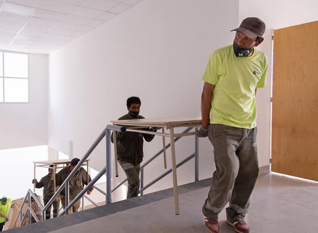 El Municipio de Quilmes equipó con nuevo mobiliario a la primaria nº46 y la secundaria nº8