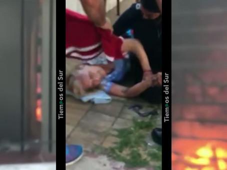 Maniataron a jubilada, la torturaron, le prendieron fuego la casa y vecino héroe la asistió a tiempo
