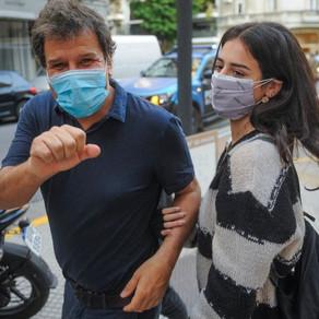 """Manes: """"Estoy muy contento en esta fiesta cívica, de que los argentinos votemos esperanzados"""""""