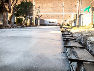 Continúan las obras del plan de asfaltos en Quilmes Oeste y en el barrio Villa La Florida