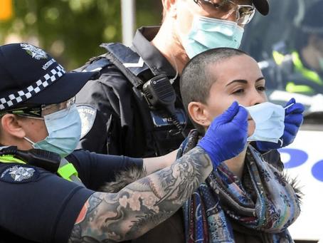 Nuevas protestas anticuarentena en Australia: 26 detenidos