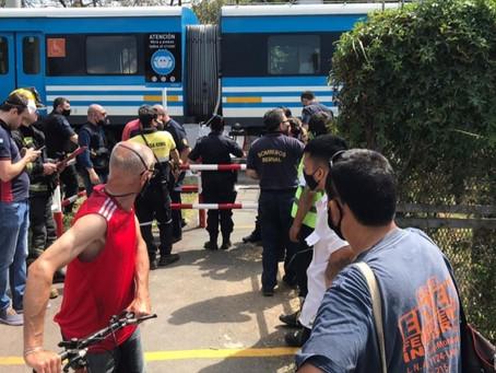 Bernal: el tren Roca embistió a una mujer en presunto suicidio